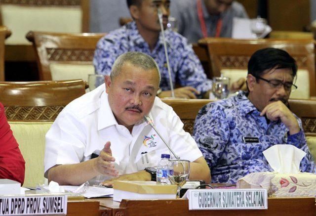 Alex Terus Yakinkan DPR RI Soal Tambahan Cabor Pada Asian Games 2018