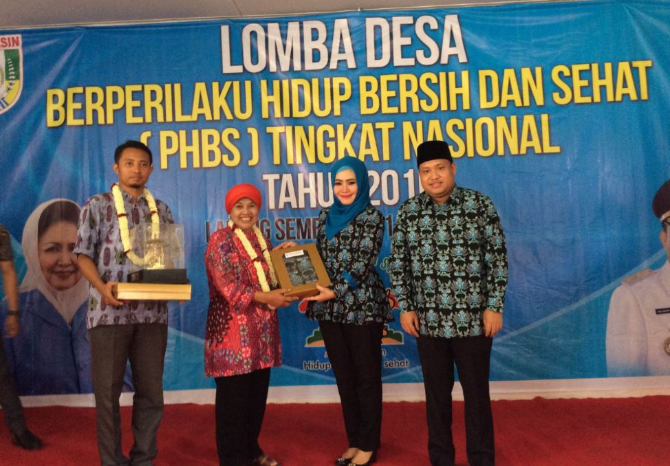 Banyuasin Online Desa Sembawa wakili Banyuasin pada PHBS tingkat Nasional