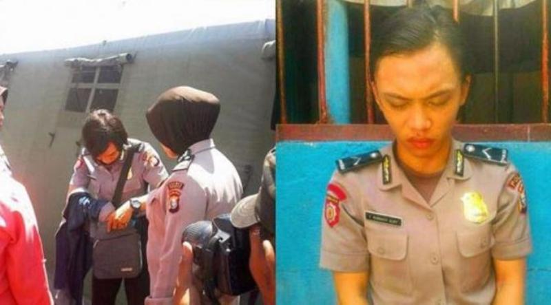 Waria Menyamar Jadi Polwan Gadungan Saat Kunjungi Pacar di Markas TNI