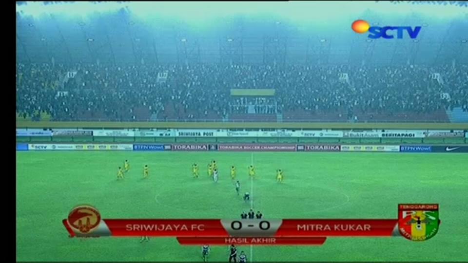 Sriwijaya FC Mitra Kukar
