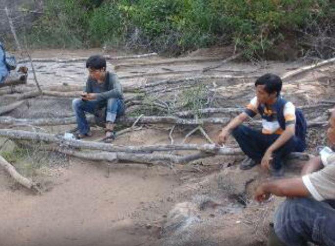 Limbah PT DRP Milik Susno Duadji Cemari Sungai dan Kebun Warga