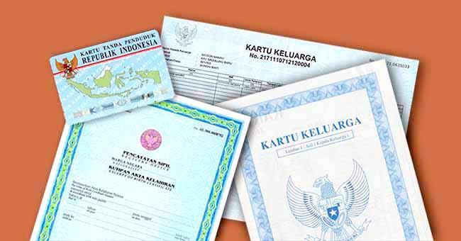 buat KTP dan Akte Kelahiran Cukup menunjukan Kartu Keluarga