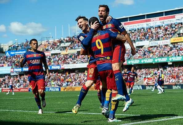 luis-suarez-goal-granada-barcelona-highligt juara la liga