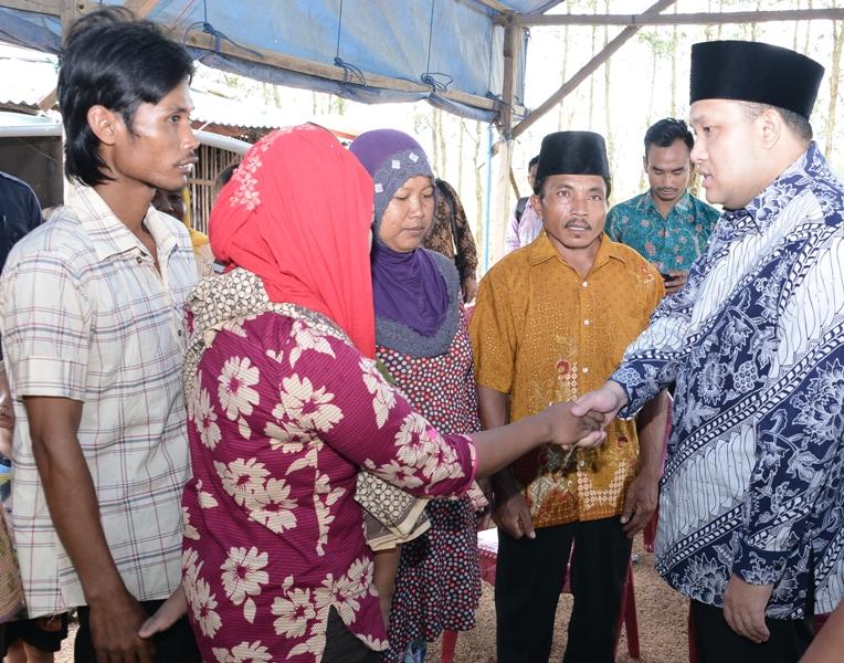 Pemkab Banyuasin beri bantuan keluarga Tasir