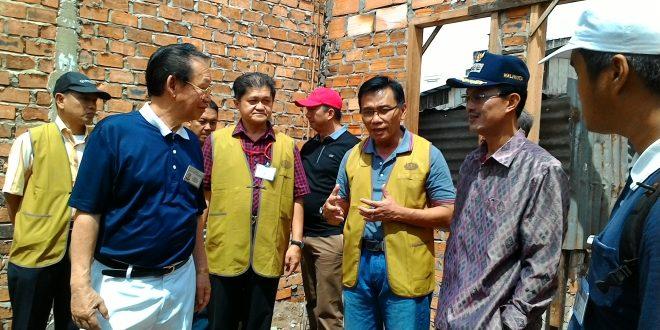 17 KK Bakal Lebaran Dengan Rumah Baru Dari Pemkot Palembang dan Yayasan Budha Tzu Chi