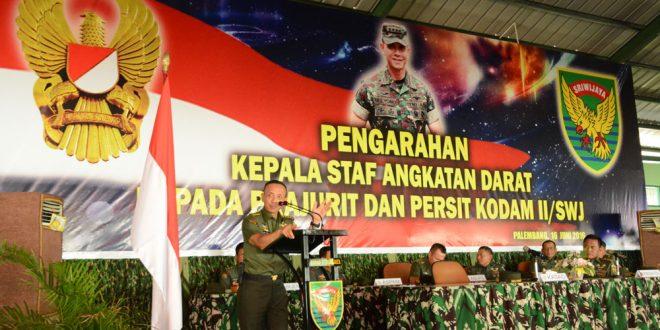 Jenderal Mulyono: Yang Membesarkan TNI AD Bukan Kasad, Tetapi Seluruh Prajurit TNI AD, Kita Semua