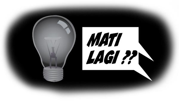 LISTRIK-mati-ilustrasi