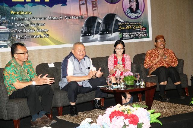 Alex Noerdin: Jika Tidak Berani Ambil Tindakan, Tidak Akan Ada LRT di Palembang