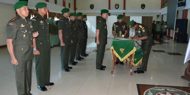 Pangdam II Swj Pimpin Sertijab 6 Jabatan di Kodam II swj