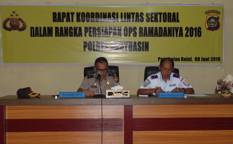 Rapat Koordinasi Lintas Sektoral Banyuasin 02